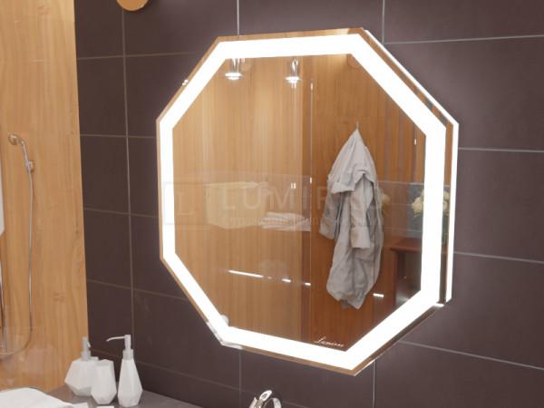 """Зеркало с подсветкой в ванную комнату """"Treviso"""""""