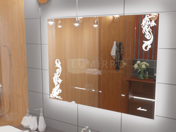 """Зеркало с подсветкой в ванную комнату """"Venezia"""""""